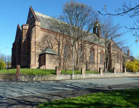 Church of St James, Great Cheetham Street East, Higher Broughton