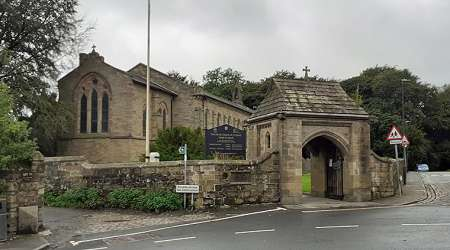 Lychgate: St David's Church, Haigh, Wigan