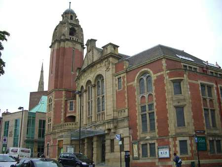Central Methodist Hall (Victoria Hall) Sheffield